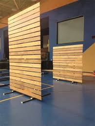 diy office partitions. Create A Moveable Partition Wall On Rollers For Functional Separation Between Youth Area And Cafe? Diy Office Partitions I