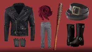 fan favourite and definitive bad guy negan is an excellent go to costume the baseball