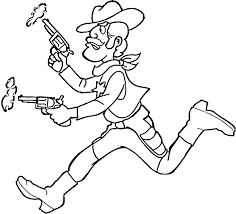 Small Picture Cowboy Coloring Pages 7 Purple Kitty