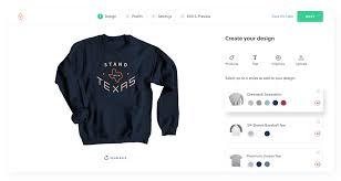 Creat A Shirt Order Custom Shirts No Minimum Bonfire
