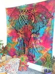 tie dye wall hanging delicious new double size elephant tie dye wall hanging tapestry diy tie