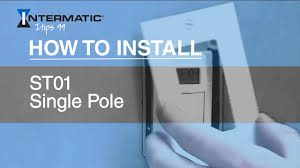 how to install the st01 single pole time switch how to install the st01 single pole time switch intermatic