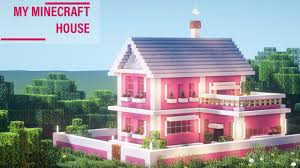 See more of minecraft pink houses on facebook. Minecraft How To Build A Lovely Pink House Super Simple 80 Youtube