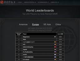 dota 2 world leaderboards by mmr k1ck esports club multigaming