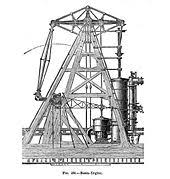 marine steam engine basic diagram of a walking beam engine