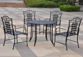 wrought iron patio chairs home depot
