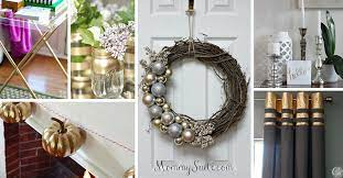 20 best diy silver and gold decor ideas