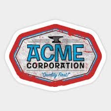 acme corporation logo. acme corporation logo