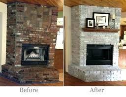 update red brick fireplace updated brick fireplace best brick fireplace remodel ideas on update update red