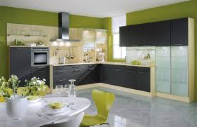 modern kitchen wall colors. Simple Colors Green Kitchen Wall Color Ideas With Modern Colors S