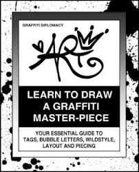 learn to draw a graffiti master piece art book graphic art drawing instructional