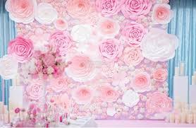Paper Flower Wedding Decorations Paper Flower Wedding Decorations Rome Fontanacountryinn Com