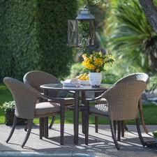 patio dining: belham living aruba all weather wicker nested patio dining set patio dining sets at hayneedle
