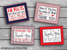 Thanks For Your Service Instant Download Printable Veteran Military Patriotic Thank