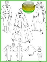 Star Wars Costume Patterns Extraordinary Simplicity 48 STAR WARS Jedi Dark Lord Cloak Tunic Patterns