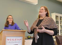 frosh honored for first year seminar essays news wesleyan at right melissa katz ing assistant professor of r ce languages and literatures speaks