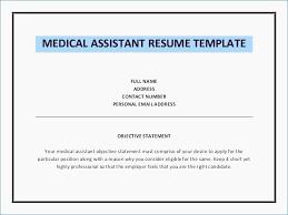 Medical Assistant Resume Objective Unique Sample Dental Assistant Resume Objectives Fresh Medical Assistant