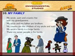 evs chapter my family for kids  evs chapter 10 my family for kids