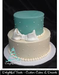 11 Teal Girl Birthday Cakes One Layer Photo Teal Chevron Birthday