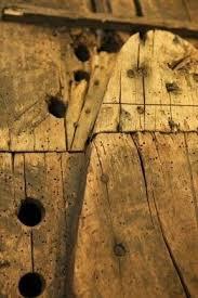 antique snowshoe makers mold form