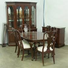 purple dining chair ideas plus ethan allen queen anne dining room 1925a lewis furniture