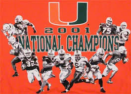 Suite Sports How Absurd Were The 2001 Miami Hurricanes