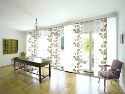 sliding glass door curtain ideas for large doors contemporary window treatment curtains