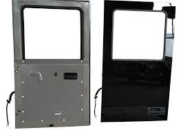 mercedes benz independent crew room glass door for fire truck custom parameter 894 1665 8