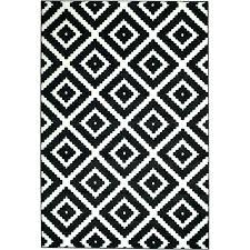 black white geometric rug black and white pattern rug black indoor area rug colours black white