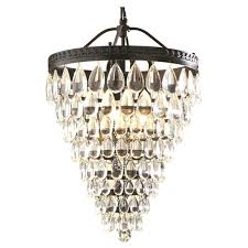 mesmerizing for the hall bathroom wrought iron crystal chandelier chandeliers of oil rubbed bronze
