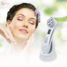 Mesotherapy Electroporation <b>EMS</b> LED Photon <b>Facial</b> Machine Go ...