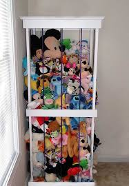How To Make A Beautiful And Simple Stuffed Animal Storage
