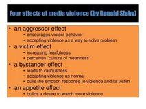 media violence has a negative effect essay essay on books are media violence has a negative effect essay