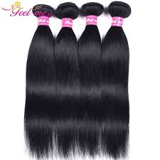 24 Inch Hair Chart Feel Me Indian Straight Hair Bundles Jet Black Human Hair Bundles 10 24inch 1 Pre Colored Hair Extension Non Remy