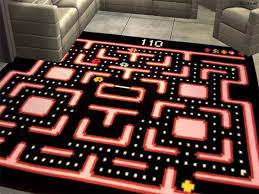 5 Video Game Rugs To Dress Up Your Game Room-this one would be great