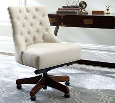 tufted office chair with arms upholstered swivel desk 0
