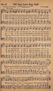 free printable antique hymn book page will your heart ring true
