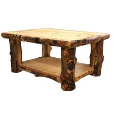 rustic wood coffee tables log coffee table country western rustic cabin wood table living