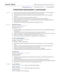 How To Write A Resume For Supervisor Position Tomyumtumweb Com