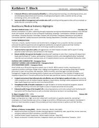 Healthcare Professional Resume Sample Management Resume Sample Healthcare Industry
