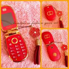 gucci 126 4. handphone hp gucci red / merah 126 4