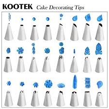 26 Piece Cake Decorating Tips Kits Supplies Kootek Professional