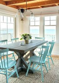 beach looking furniture. Coastal Dining Room Chair Beach Style Tables Cool With Blue Chairs Cottage Looking Furniture N