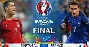 Pertandingan kalo ini merupakan hidup dan mati pada penyisihan grup f euro 2021 yang akan berlangsung pada kamis. Euro 2016 Final Prediction Portugal Vs France How To Watch Online Prancis Portugal Final