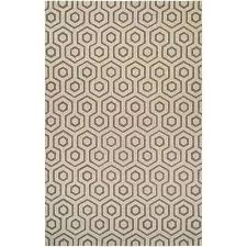 bowery ainslie ivory grey 8 ft x 11 ft area rug