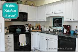 white kitchen reveal a before after
