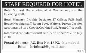 Graphic Design Office Unique Manager Graphic Designer IT Officer Accountant Jobs In Murree 48