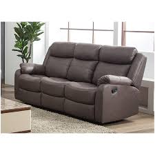 sapphire 3 seater recliner sofa with