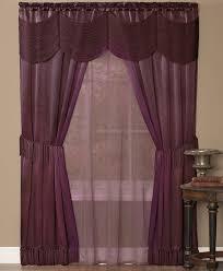 splendor batiste sheer curtains white
