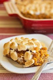 sweet potato casserole with marshmallows paula deen. Interesting Deen Inside Sweet Potato Casserole With Marshmallows Paula Deen U